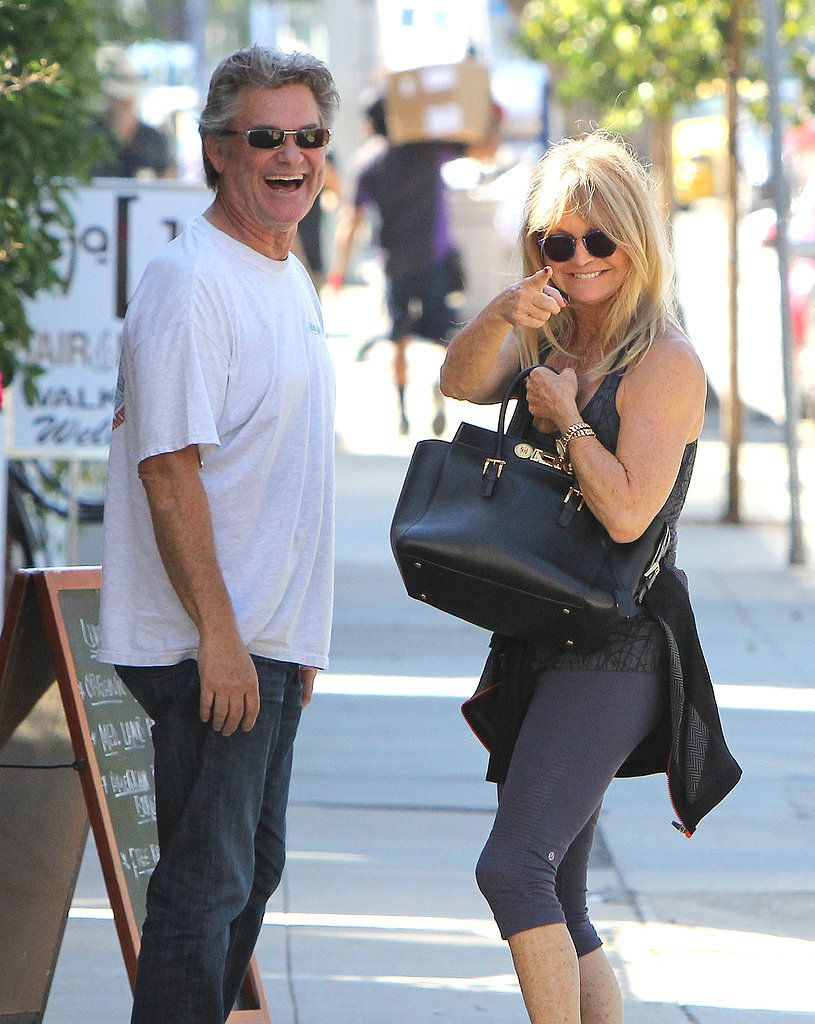 After 30 Years Kurt Russell And Goldie Hawn Still Go On Sweet Lunch Dates Goldie Hawn Goldie Hawn Kurt Russell Kurt Russell