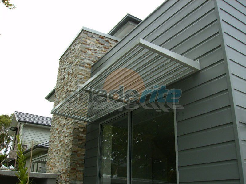 Aluminium Fixed Louvre Awnings Are An Efficient Way To Minimise