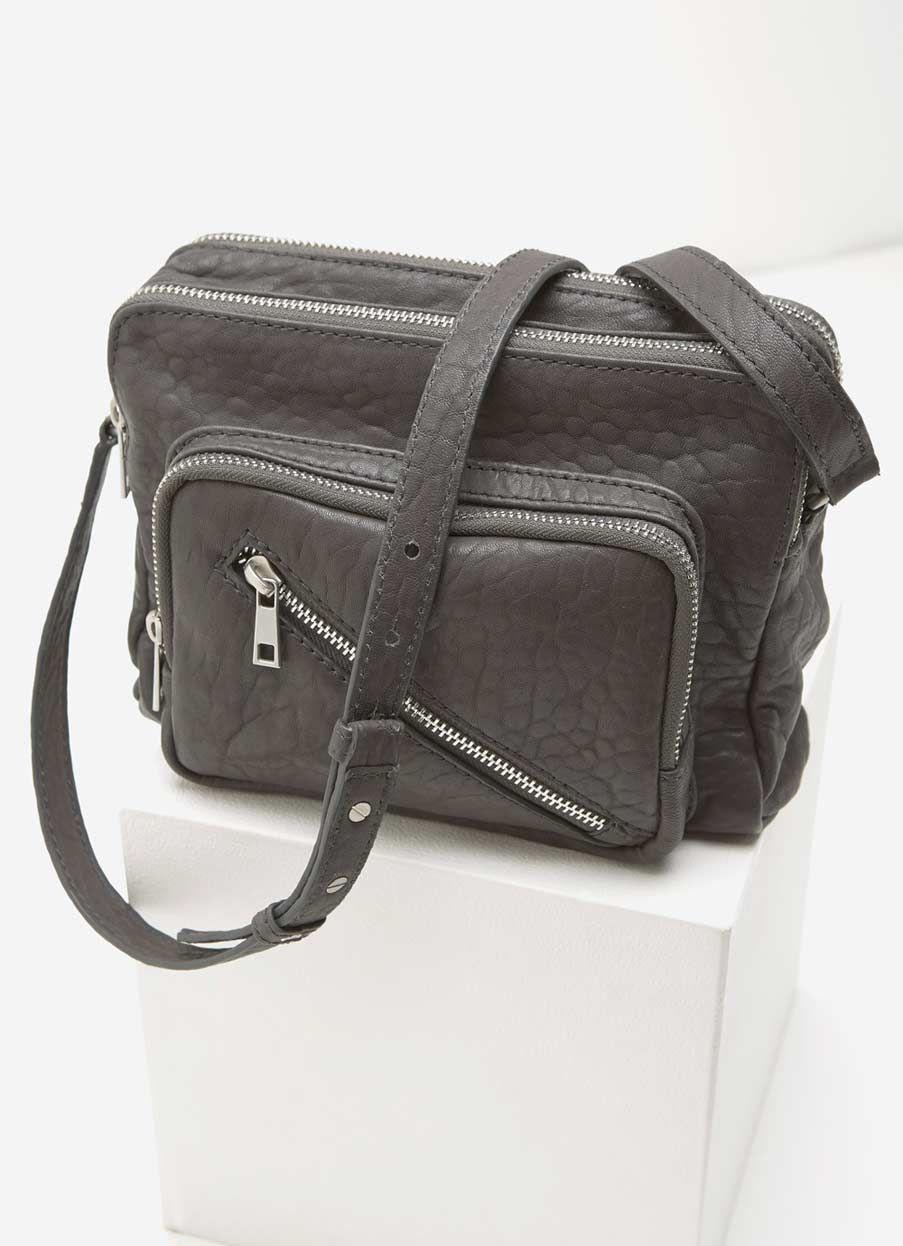 Scarlett Ash Zip Leather Bag  31b0547bfee1e