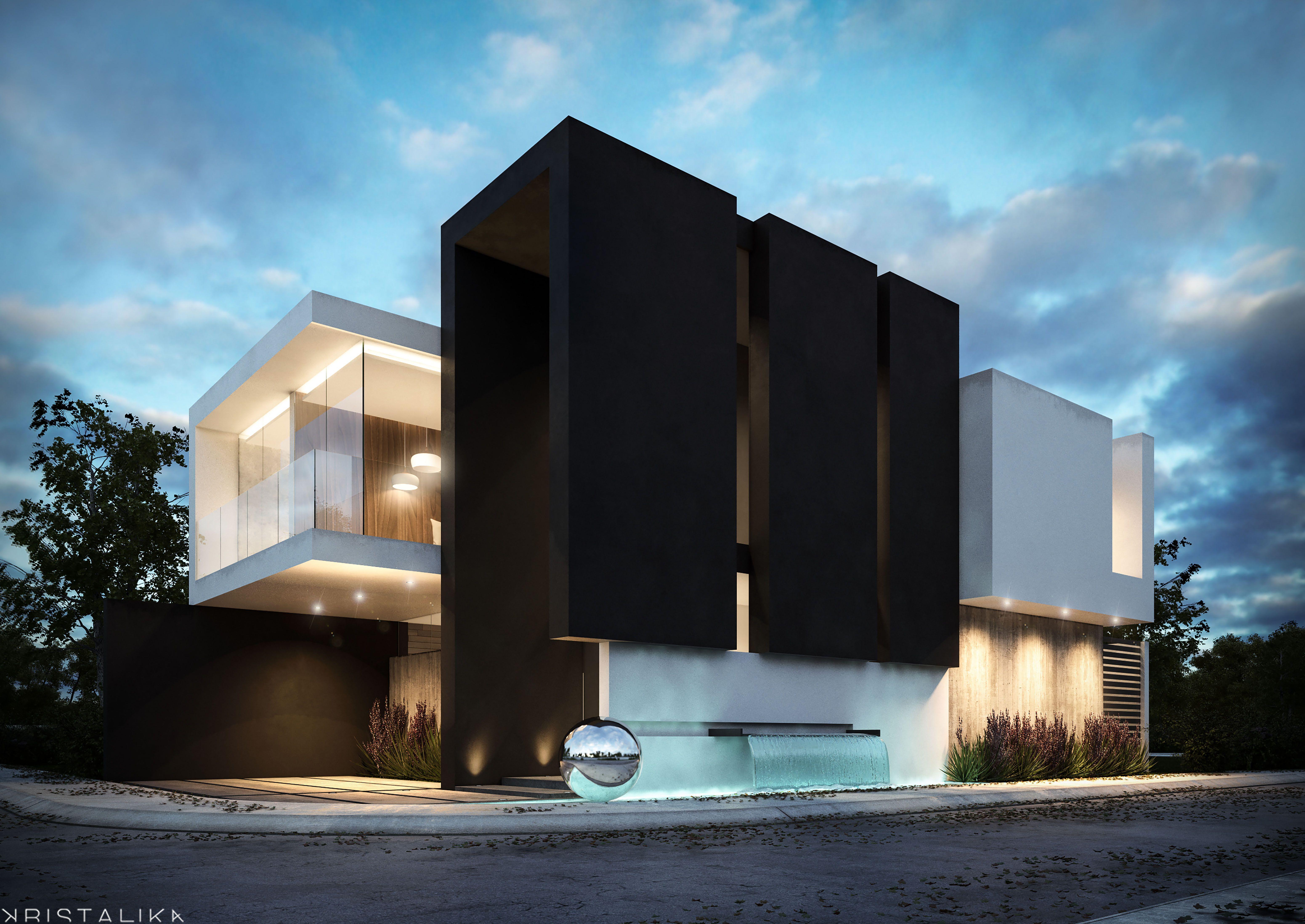 Livorno house kristalika arquitecture and interior for Edificios minimalistas fotos