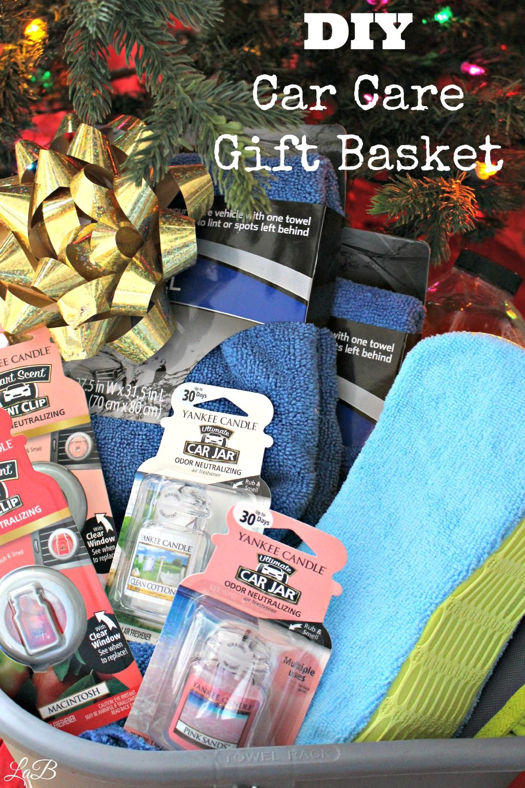 diy car care gift basket christmas season pinterest gift baskets gifts and diy gift baskets. Black Bedroom Furniture Sets. Home Design Ideas