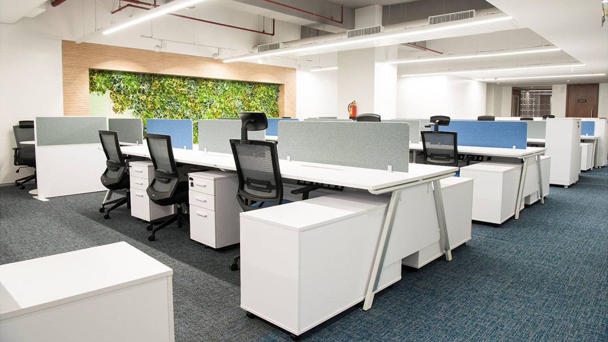 Cozy In Your Cubicle An Office Design Alternative May Improve Efficiency Office Layout Office Design Work Office Design