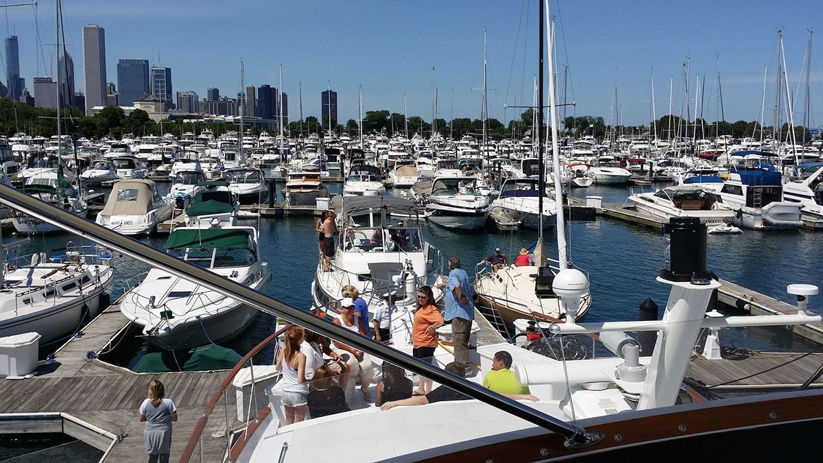 Gallery chicago private yacht rentals chicago private
