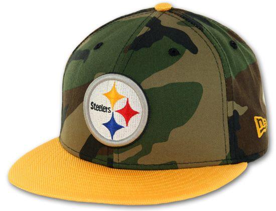 def1450e Pittsburgh Steelers Ballistacam 59Fifty Fitted Cap by NEW ERA x BILLION  CREATION x NFL