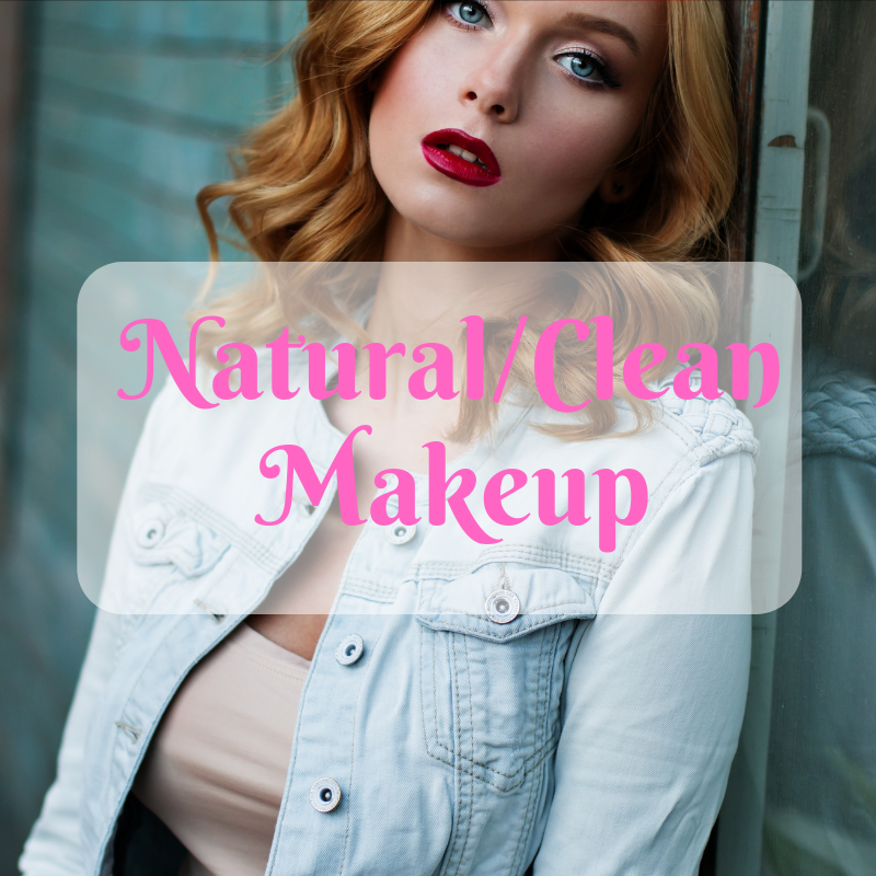 A lot of makeup nowadays has tons of chemicals that can