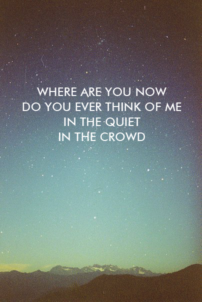 """Where Are You Know"" - Mumford & Sons"