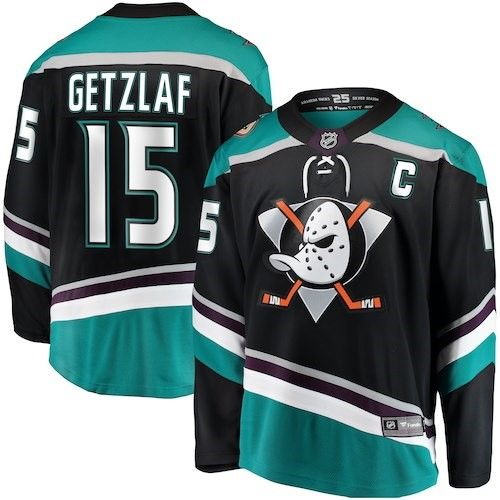 quality design cf770 5e2ce Ryan Getzlaf Anaheim Ducks Fanatics Branded Youth Alternate ...