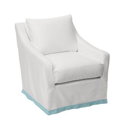 Custom Presidio Glider for Baby Nursery or Kids Room   Serena & Lily