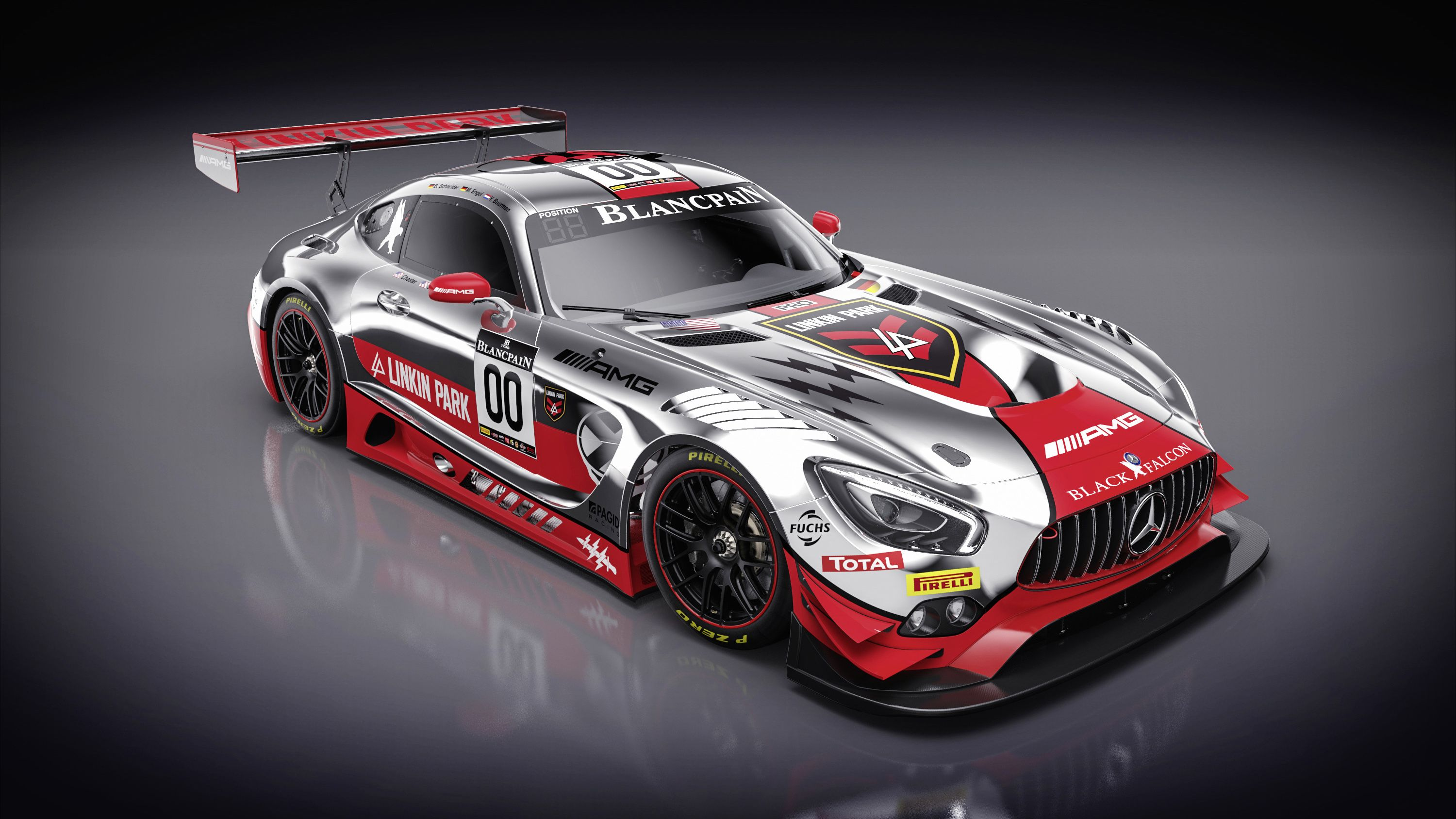 Mercedes Amg Gt3 With Linkin Park Livery 2016 With Images