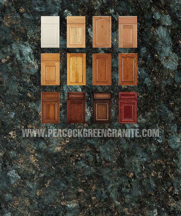 Peacock Green Granite Kitchen Green Granite Countertops Green
