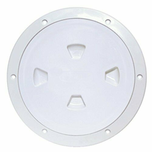 Sponsored Ebay Beckson Marine Dp80 W White 8 Smooth Center Screw Out Deck Plate With Trim Ring Deck Deck Design Screw