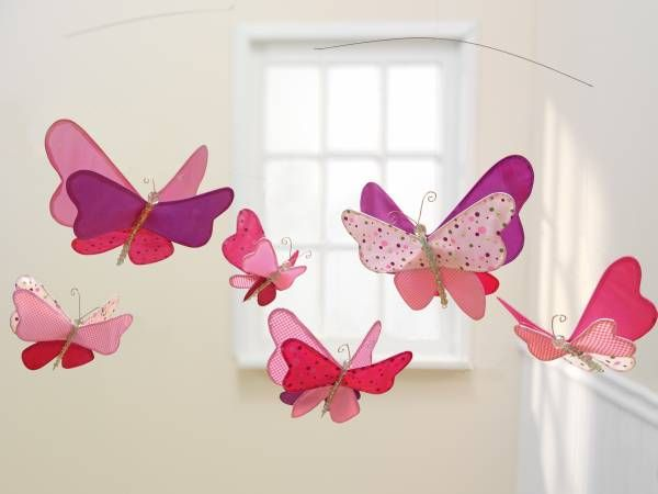 Butterfly Themed Accessories For The Nursery