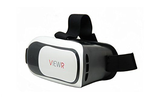 Virtual Reality Headset Best Movie & Games Viewer 3D - Use Free VR