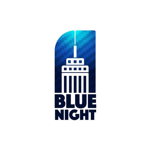 bluenight bluenight initial logo design private label selling rh za pinterest com