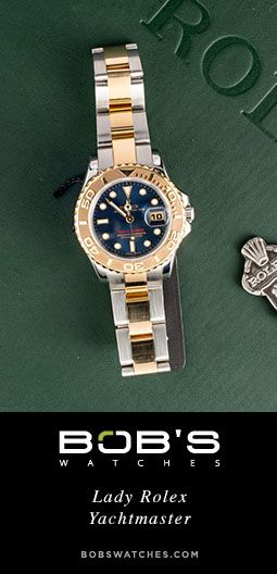 Lady Rolex Yacht-master | Bob's Watches | #Rolex #Yachtmaster #LadyRolex #LadyYachtmaster