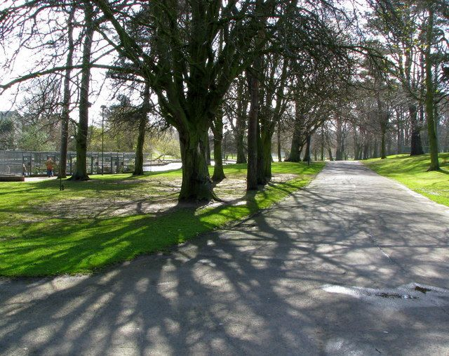 Path,Ward Park,Bangor, Co Down. Bangor, Northern ireland