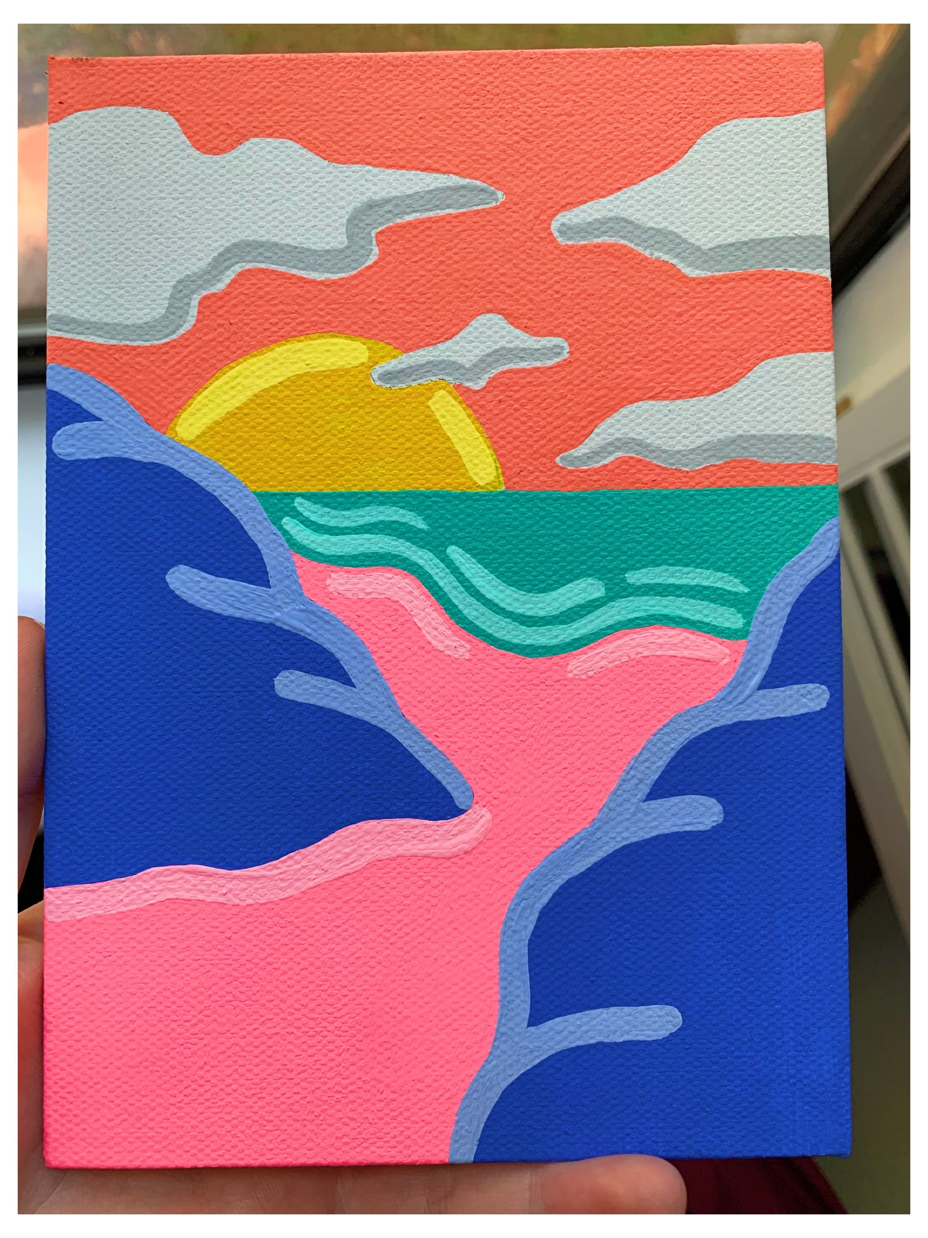 pop art painting ideas