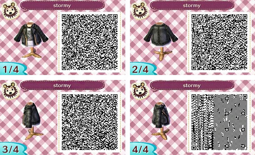 New Leaf Men S Fashion Qr Codes Animal Crossing Animal