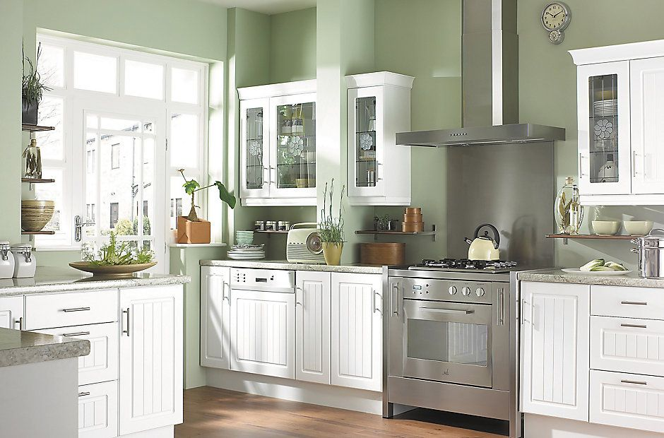 white kitchen cabinets country style easier ikea alternative b amp q it white country style 28726