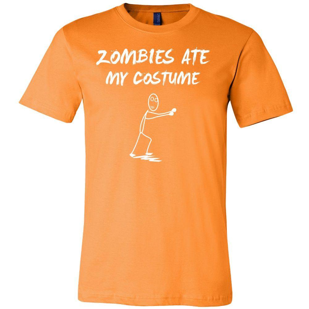 Halloween - Zombie Ate My Costume - Men Short Sleeve T Shirt - TL00805SS
