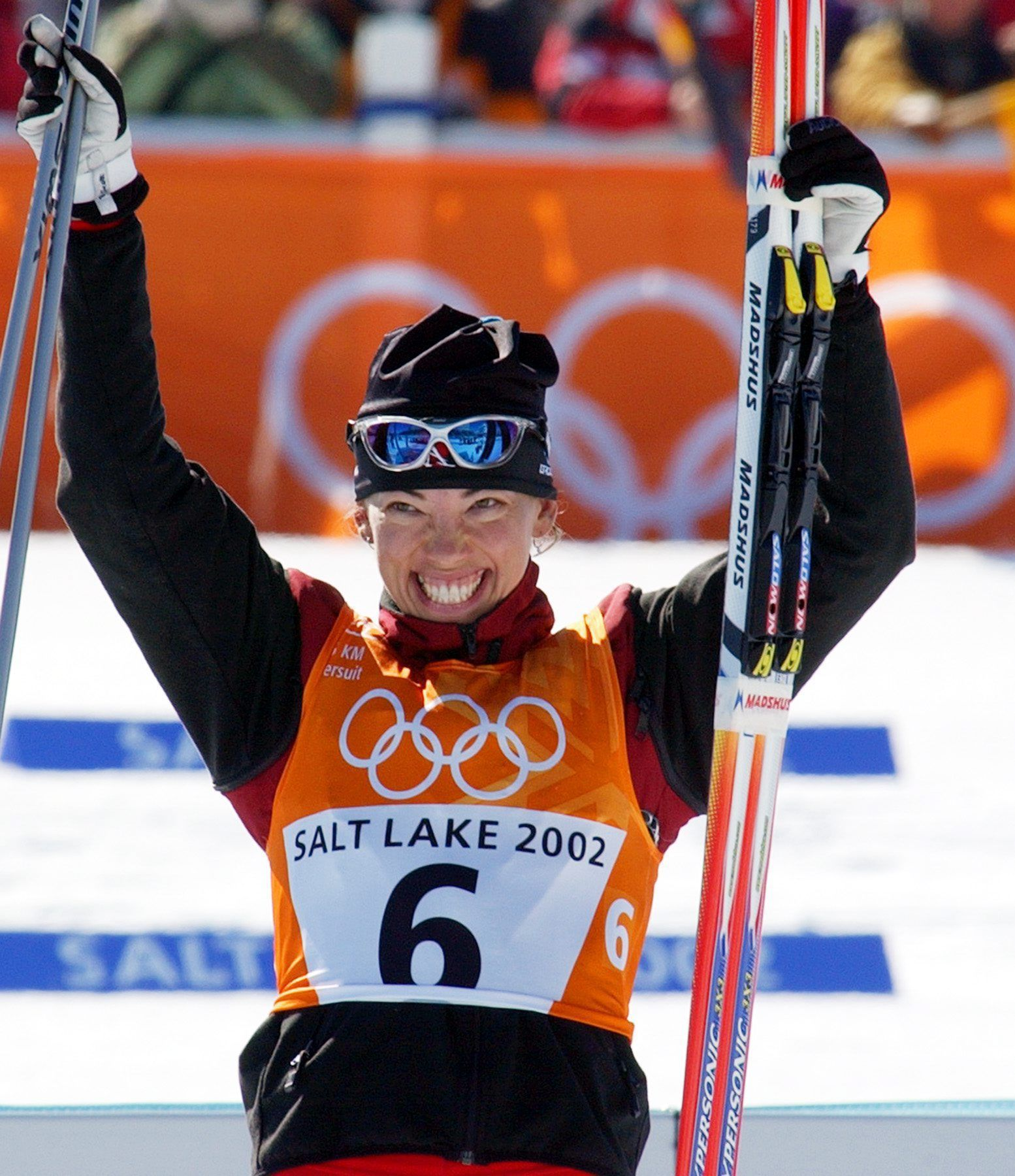 Beckie Scott was Canada's first cross-country skiing medalist, a bronze. Then her Olympic story took a strange turn as the two skiers in front of her tested positive for steroids. She would eventually be awarded the silver and gold medals.