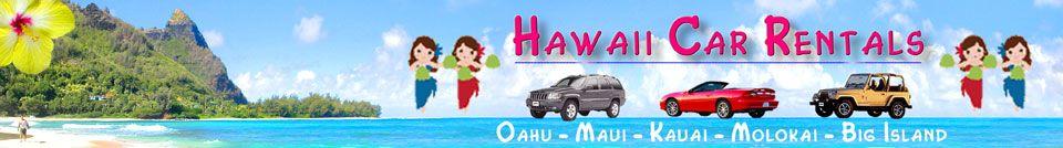 Hawaii Car Rentals Up To 75 Off Cheap Discount Hawaii
