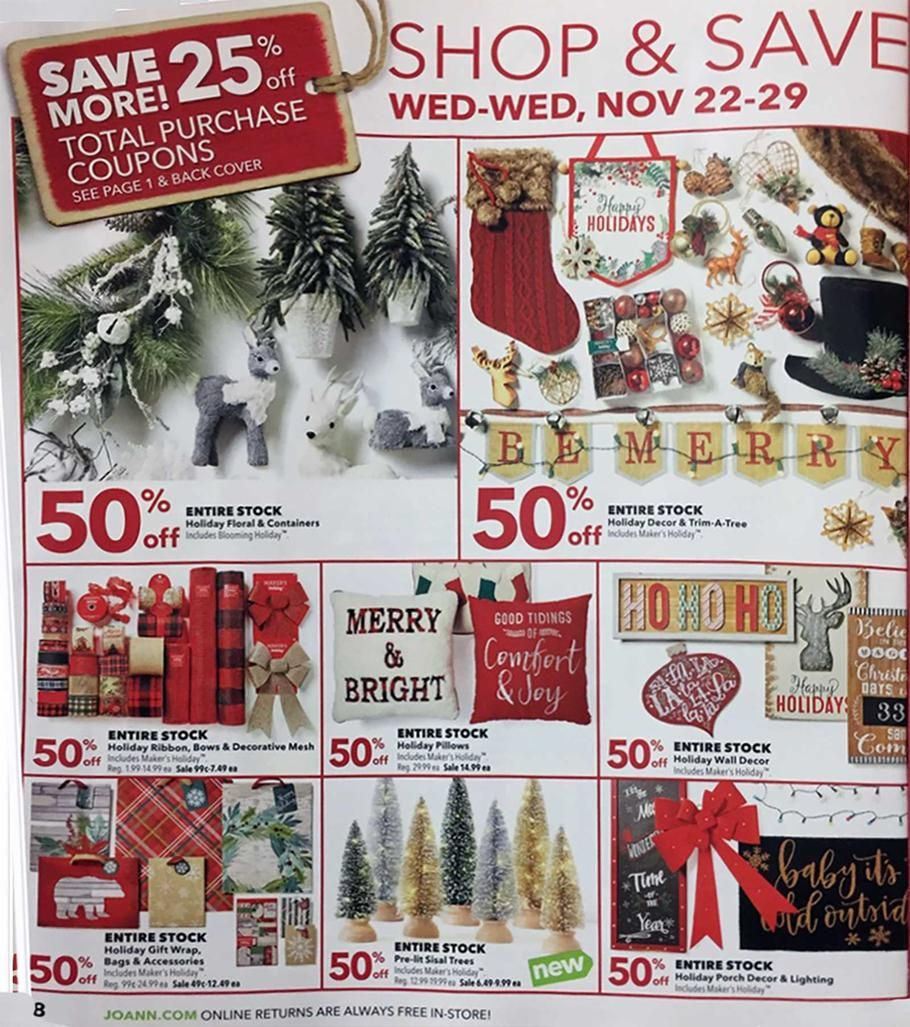 Joann Black Friday 2017 Ads And Deals Get The Best Joann Black Friday Deals 2017 To Save On Everything Yo Black Friday 2017 Ads Joanns Fabric And Crafts Fabric