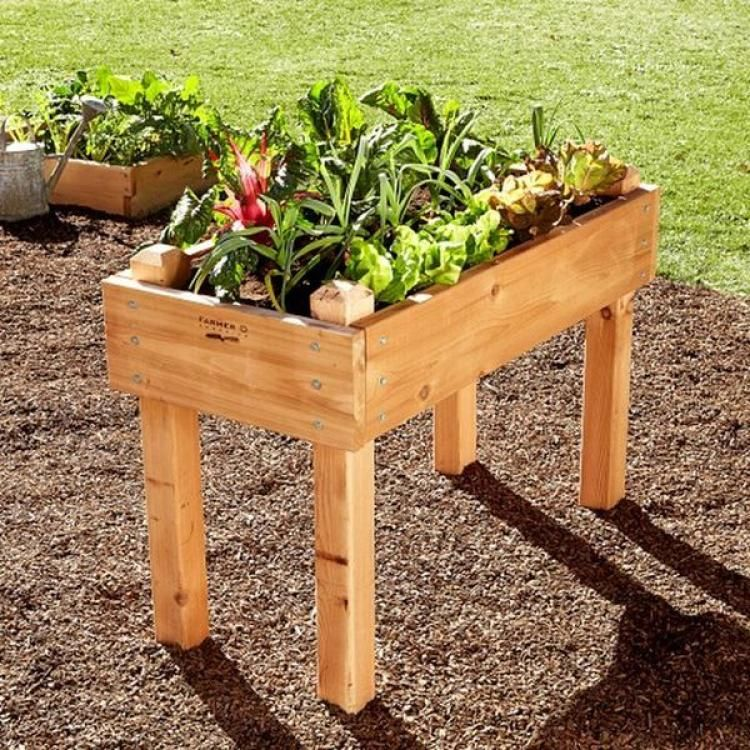 20 Raised Bed Garden Designs And Beautiful Backyard: 20+ Simple Raised Garden Bed Inspirations For Backyard