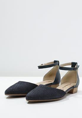 Tamaris Baleriny Z Zapieciem Navy Zalando Pl Tamaris Shoes Navy