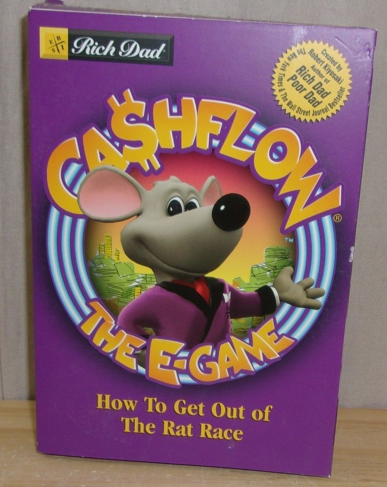 rich dad cashflow the e game how to get out of the rat race cd rom