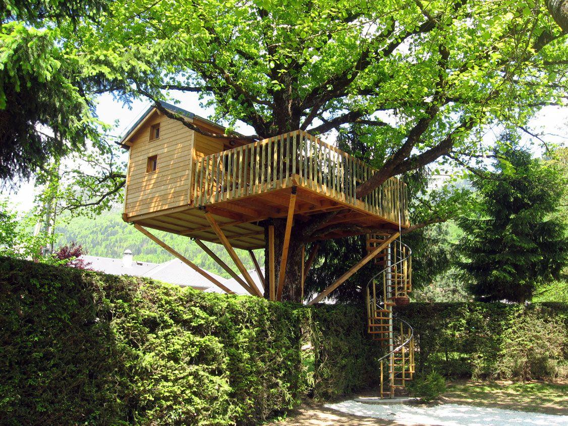 Cabanes, Cabin, Tree House | Cabane dans les arbres ...