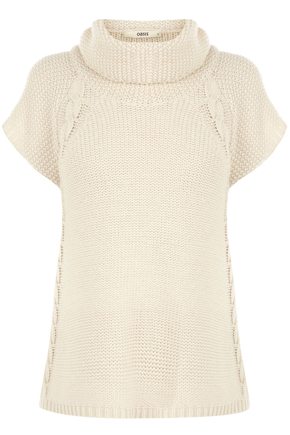 Cable Trapeze Knitted Jumper   Выкройки   Pinterest   Sacos ...