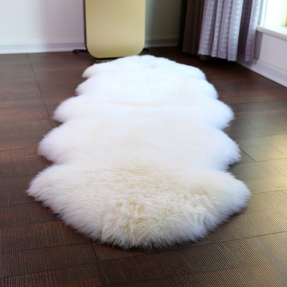 Multi Color Luxury 100 Real Sheepskin Wool Area Rugs In Living Room Soft Shaggy Warm Rugs Chair Cover Home Deco Floor Sheepskin Rug Wool Carpet Rugs On Carpet