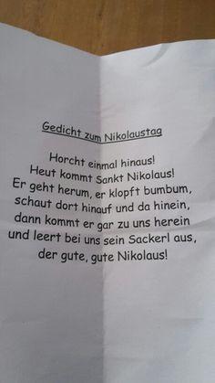 Nikolausgedicht - #schuleunterricht   - Schule Unterricht - #Nikolausgedicht #Schule #schuleunterricht #Unterricht #adventlustigerster