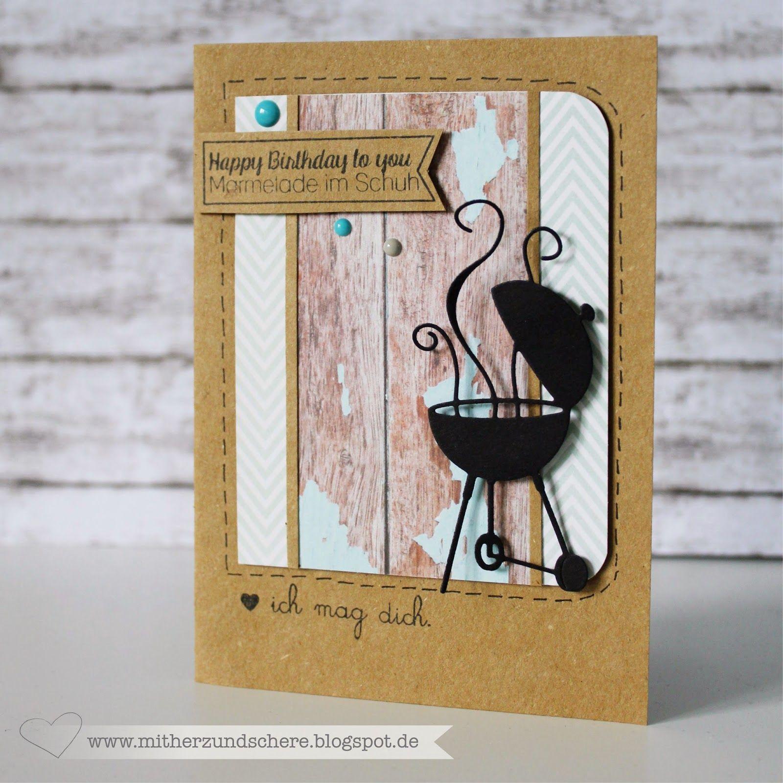 karte mit grill karte f r m nner barbeque card meine sachen pinterest grill f r m nner. Black Bedroom Furniture Sets. Home Design Ideas