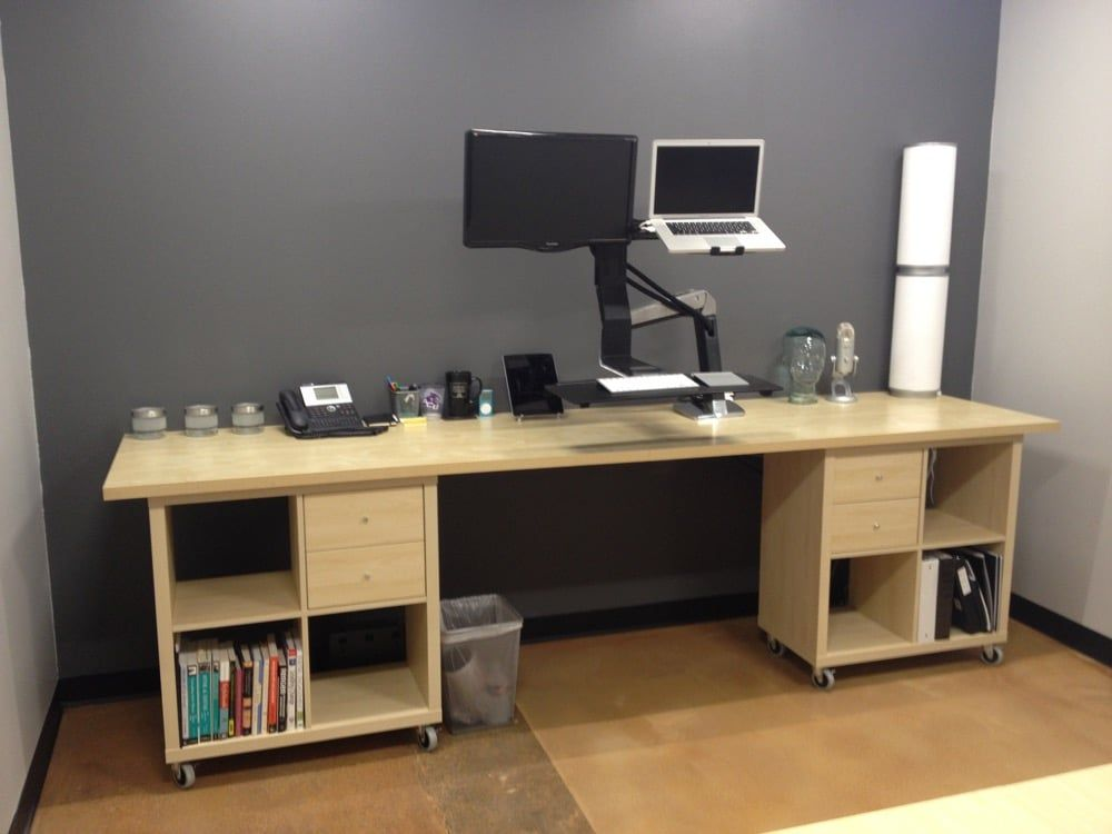 KALLAX desk ideas: Three ways to set up a workstat
