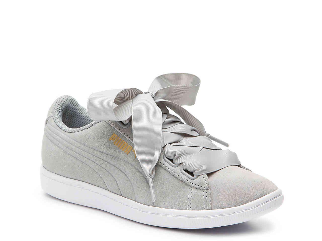 puma vikky ribbon sneakers