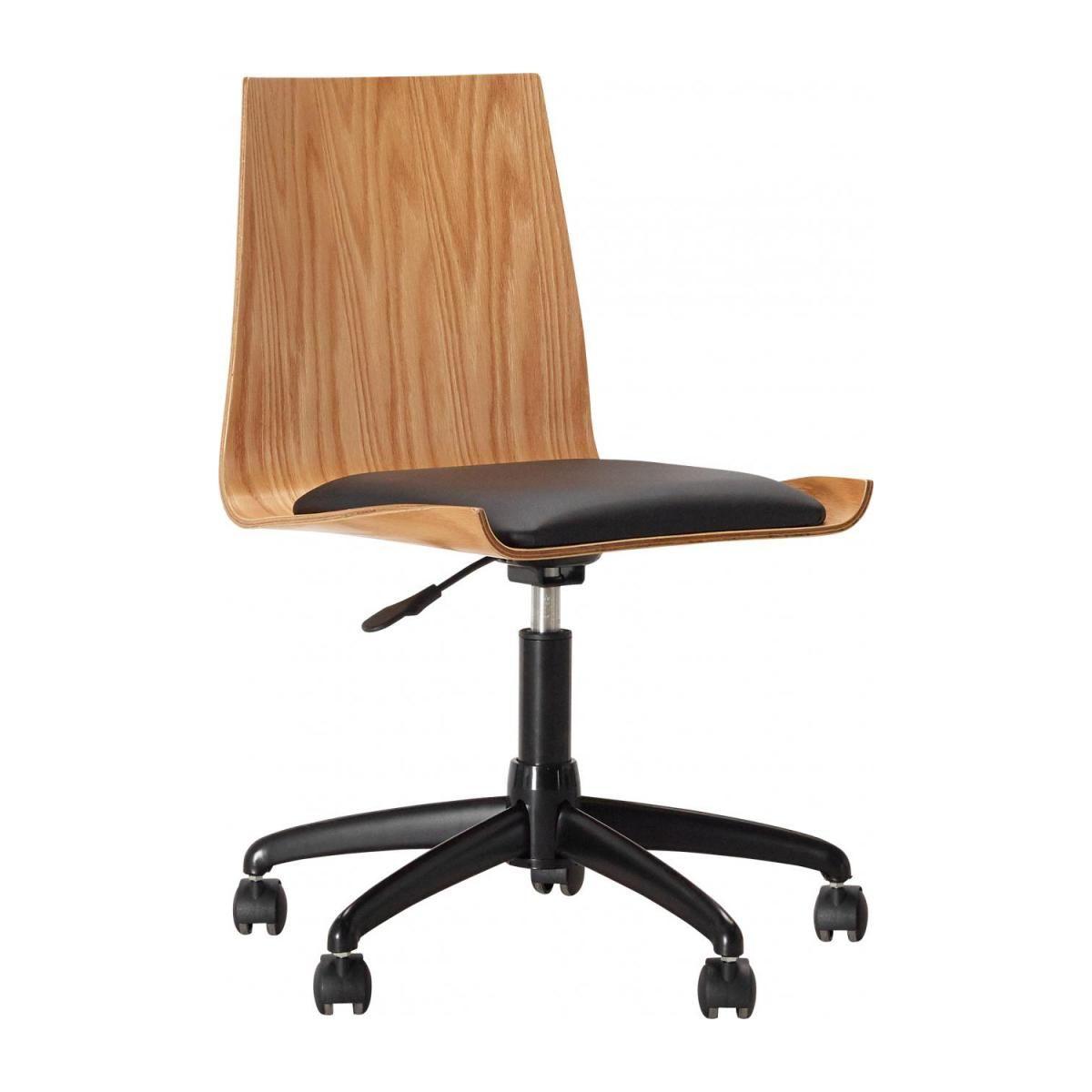 Ghandi Chaise De Bureau Design En Chene Habitat Chaises De Bureau Habitat Ventes Pas Cher Com Chaise De Bureau Design Chaise Bureau Bureau Design