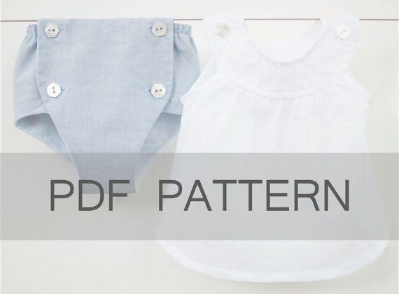 Diaper Cover PDF baby sewing pattern baby pdf by JillyAtlanta | Sew ...