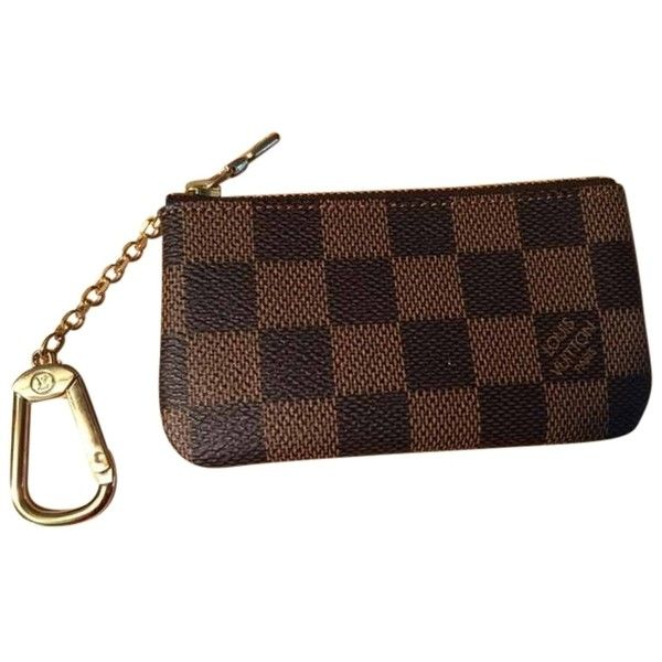 Pre Owned Louis Vuitton Keychain Wallet Brown Clutch 202 Liked On Polyvore Featuring Bags Handbags Clutches Brown Miniature Purse Louis Vuitton Keychain Wallet Louis Vuitton Keychain Louis Vuitton