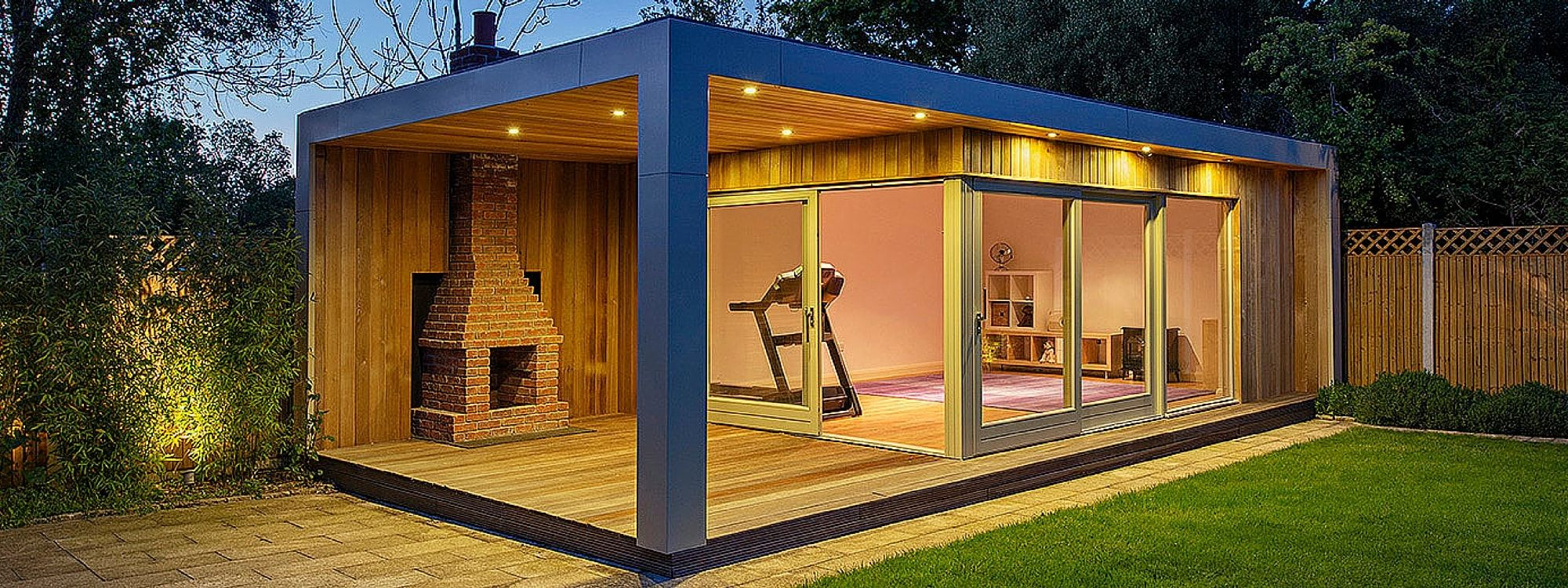 Shomera are the number 1 provider of bespoke and fixed for Outdoor studio rooms
