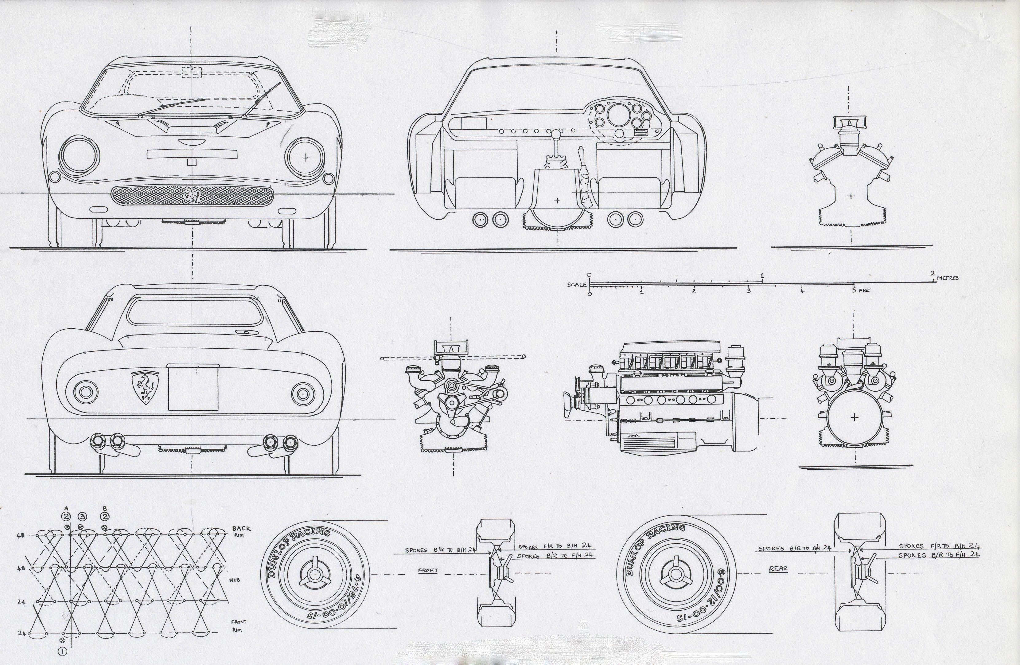Ferrari 250 gto 1964 smcars car blueprints forum cars net car blueprints forum malvernweather Choice Image