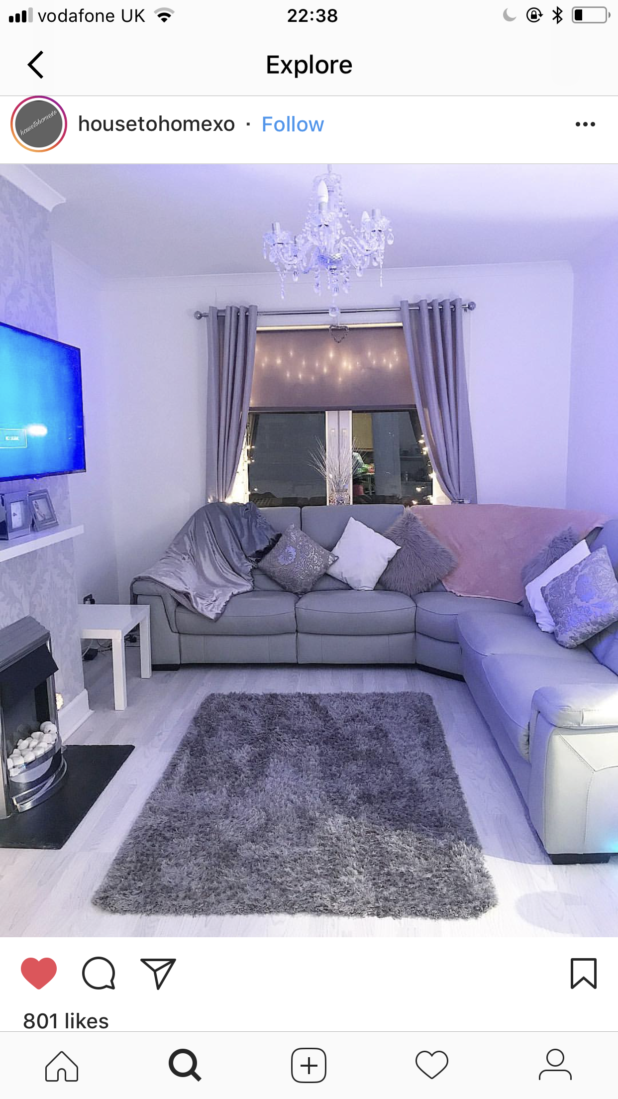 Small Living Room Ideas On A Budget: A Glam Movie/chill Room. In 2019