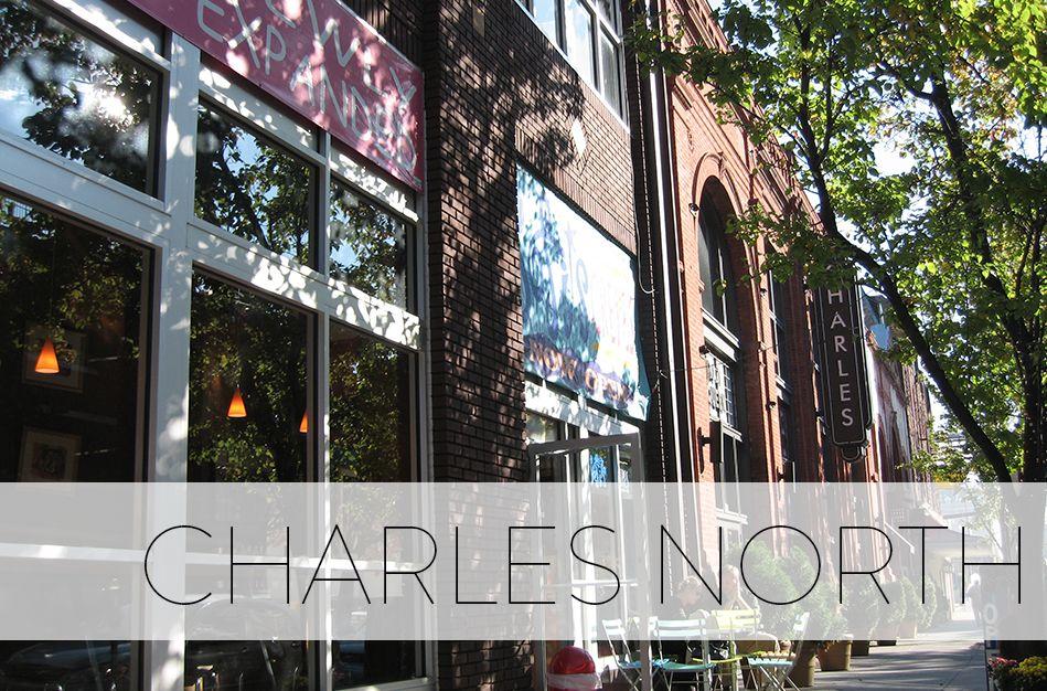 Charles north the neighbourhood historic buildings