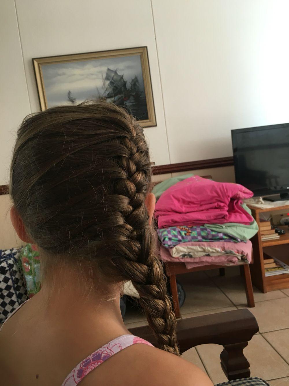 My grandaughter's hair