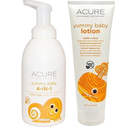 Introducing Acure Organics Yummy Baby 4in1 Foamer And
