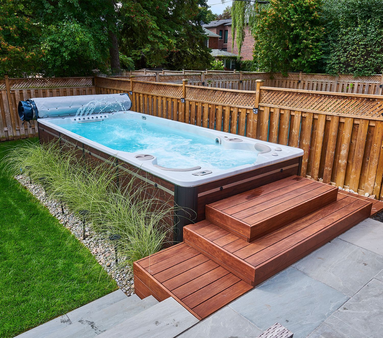 Models Hot Tub Swim Spa Swim Spa Landscaping Outdoor Swim Spa