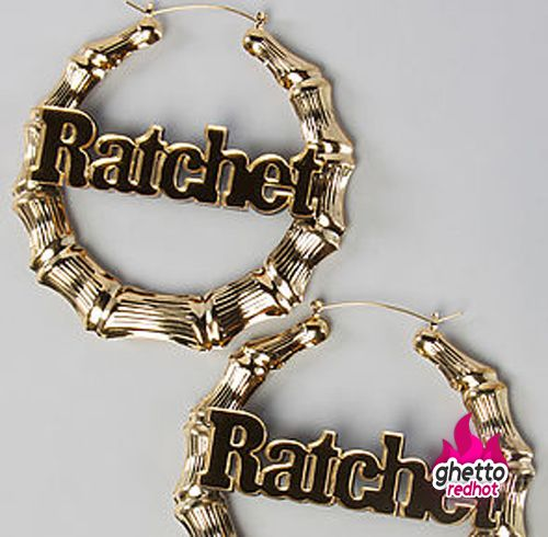 Ratchet Body Jewelry Hoop Earrings Bag