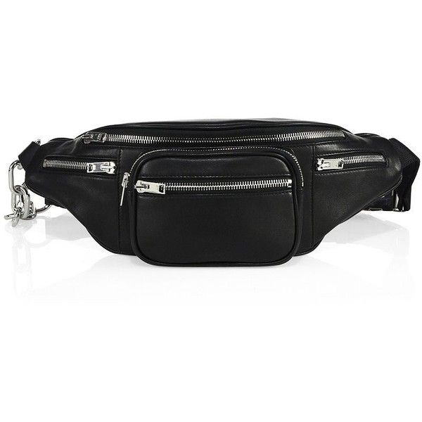 Alexander Wang Attica Leather Fanny Pack (28.040 RUB) ❤ liked on Polyvore  featuring bags