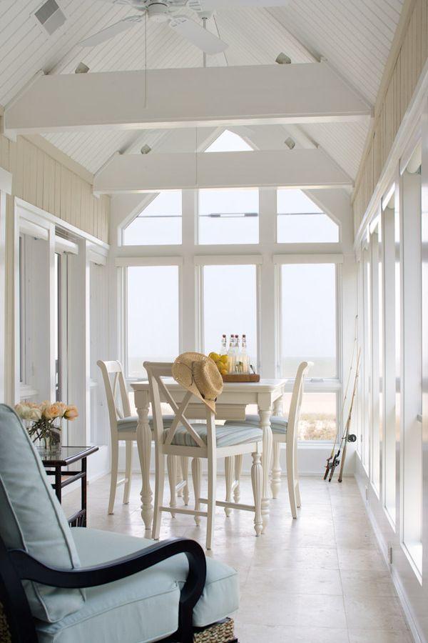 High-style, high-pitch porch... Denman Bennett Architects